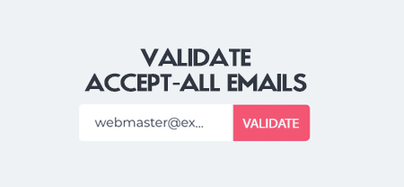 How to validate catch-all and hard to validate emails from
