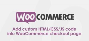 Add custom HTML/CSS/JS code into WooCommerce checkout page